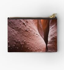 Spooky Curves and Lines, Grand Staircase Escalante, Utah Studio Pouch