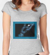 Dissolving man Women's Fitted Scoop T-Shirt