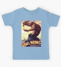 Vintage poster - King Kong Kids Clothes