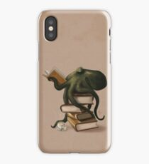 Well-Read Octopus iPhone Case/Skin