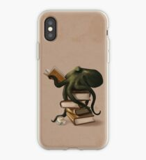Well-Read Octopus iPhone Case