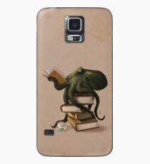 Well-Read Octopus Case/Skin for Samsung Galaxy