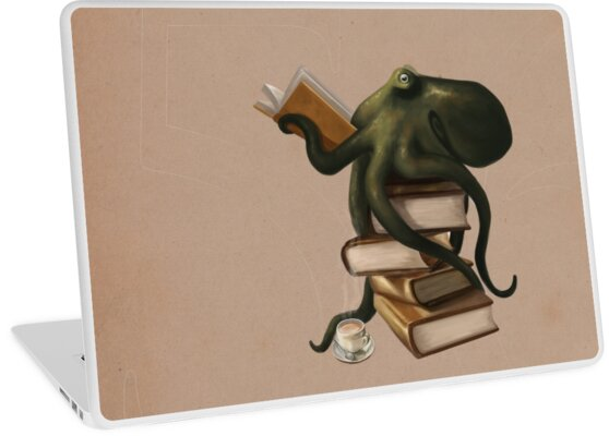 Well-Read Octopus by Rebecca Flaum