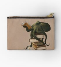 Well-Read Octopus Studio Pouch
