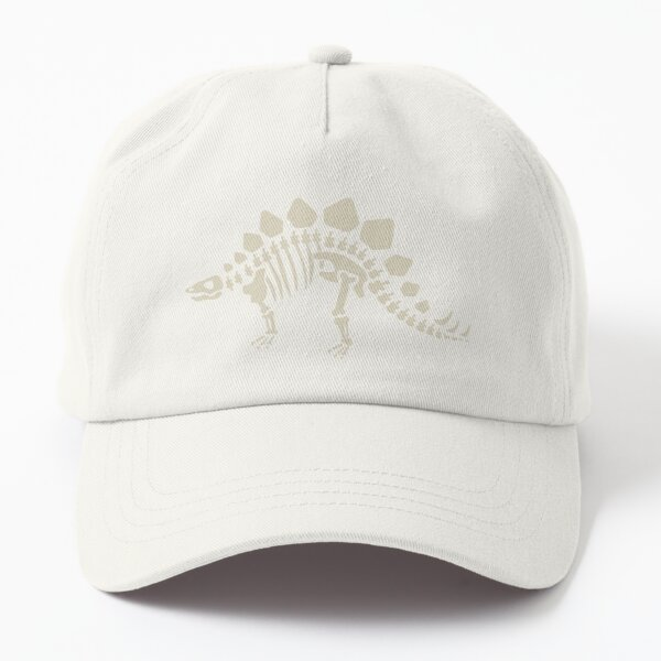 Dinosaur Fossils in Black Dad Hat