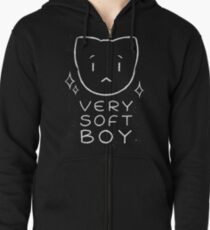 Very Soft Boy Zipped Hoodie