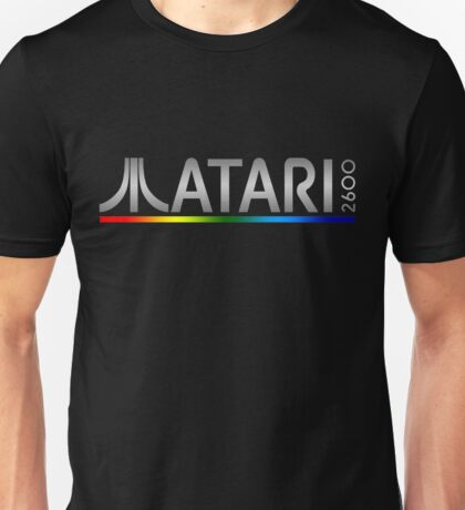 Atari 2600 Console Logo T-shirt for Adults
