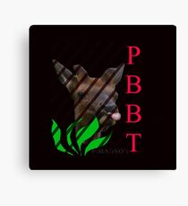 PBBT = Raspberry  Canvas Print