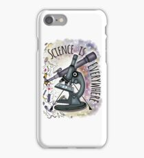Science is Everywhere iPhone Case/Skin