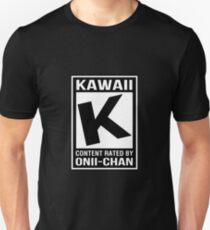 Rated K for Kawaii Unisex T-Shirt