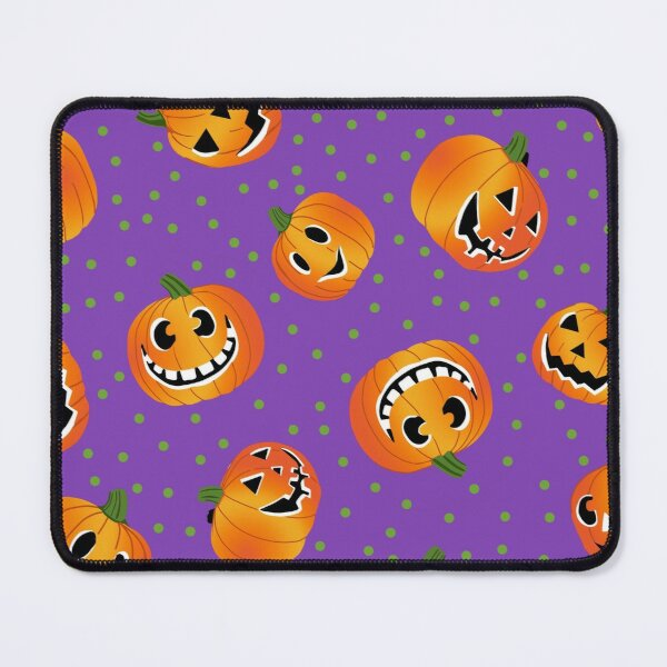 Happy Jack-o-Lanterns Mouse Pad