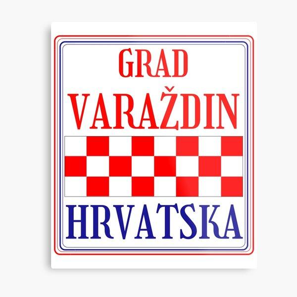 Croatian City of Varazdin Metal Print