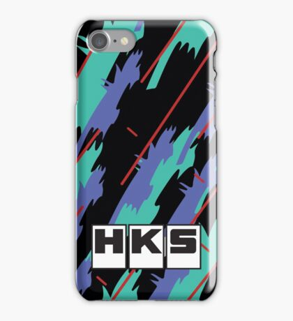 HKS Retro Pattern iPhone Case/Skin