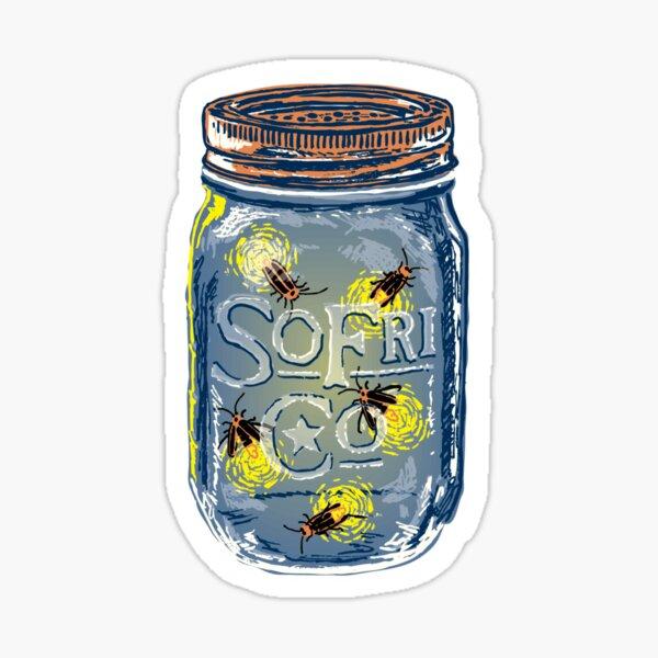 Southern Fried Mason Jar Sticker