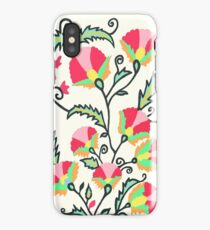 Suzani-inspired Blooms iPhone Case