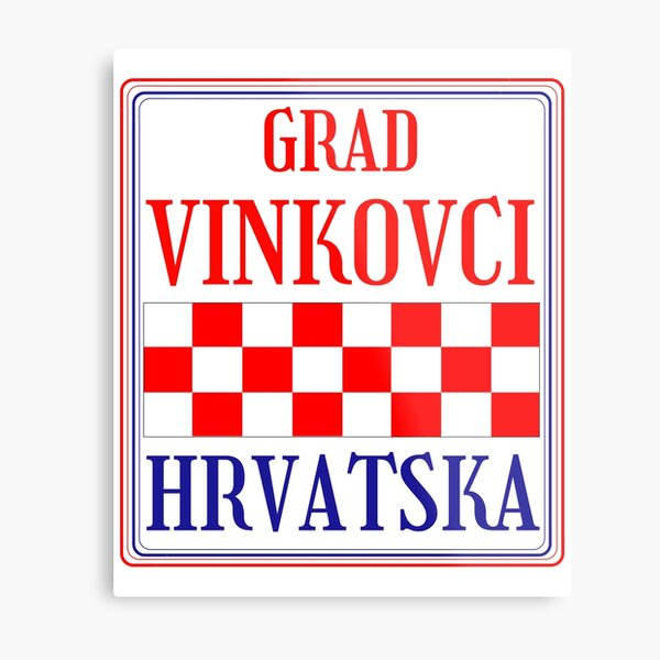 Croatian City of Vinkovci Metal Print