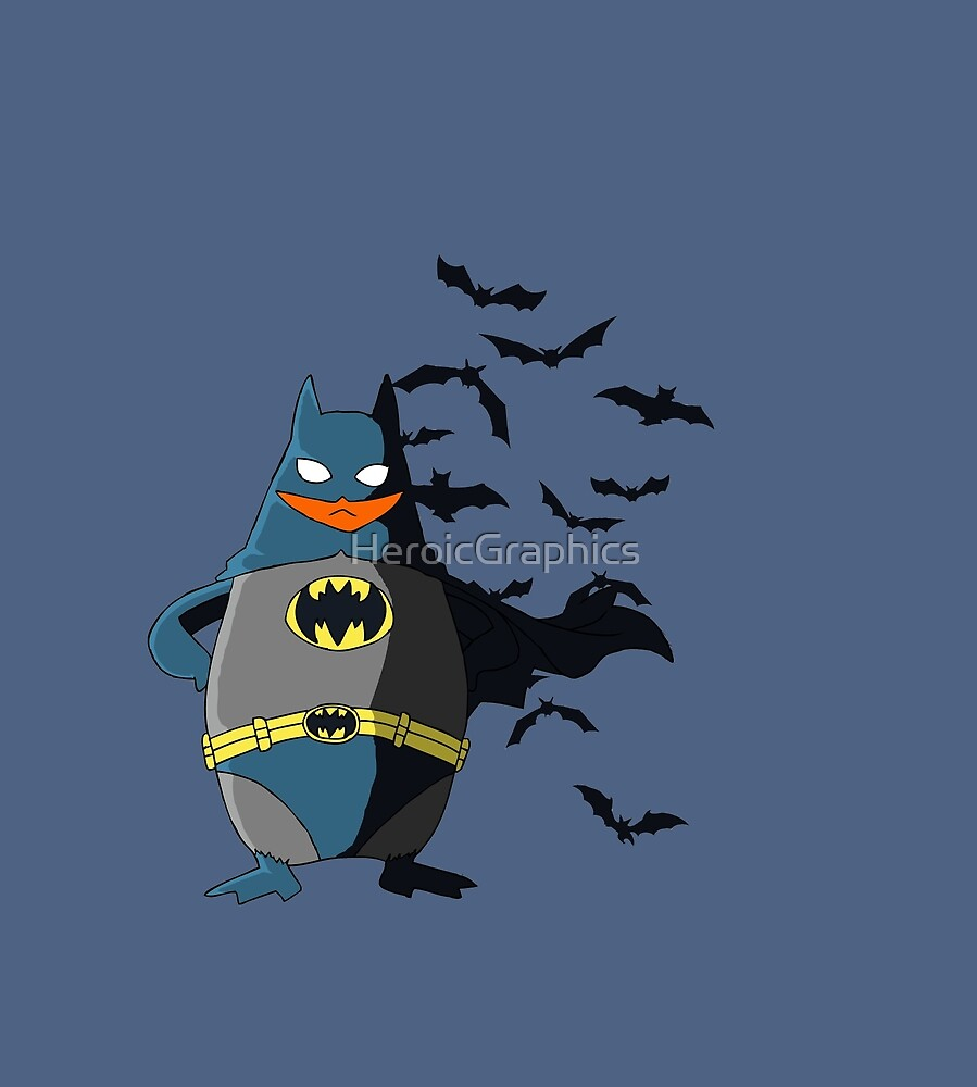 Justice Penguin by HeroicGraphics