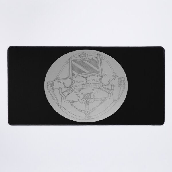 M.I. #6  ☽  General Space Mech Desk Mat