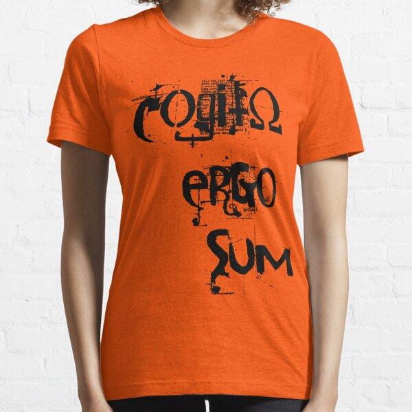 Cogito Ergo Sum Essential T-Shirt