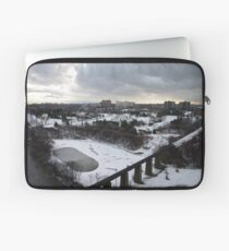 First Snow of 2009.. Merry Christmas... Laptop Sleeve