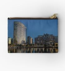 Vic harbor at dusk. Studio Pouch
