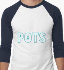 POTS Men's Baseball ¾ T-Shirt