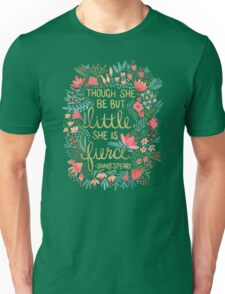 Little & Fierce Unisex T-Shirt