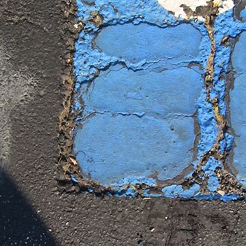 Blue Asphalt 13D by BurningCity