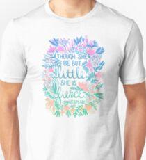 Little & Fierce – Lavender Mint Ombré T-Shirt