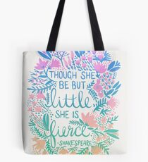 Little & Fierce – Lavender Mint Ombré Tote Bag