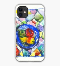 Apples. Watercolor. iPhone Case