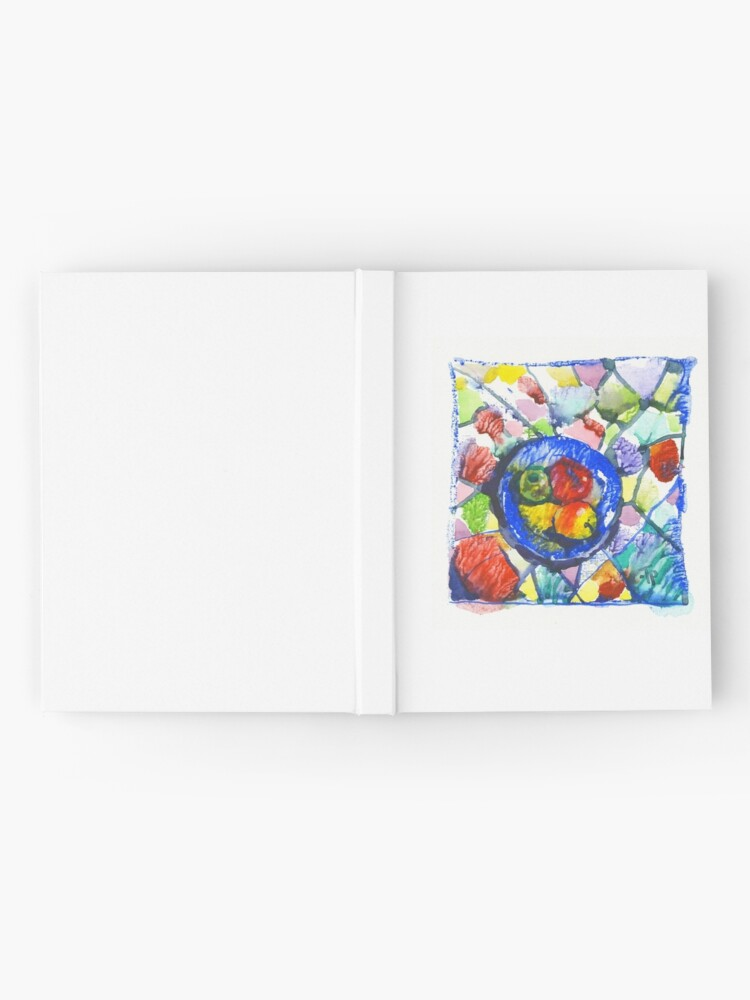 Alternate view of Apples. Watercolor. Hardcover Journal