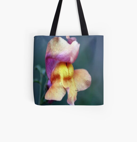 Color Of The Snapdragon Flower All Over Print Tote Bag
