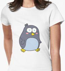 cartoon penguin Women's Fitted T-Shirt