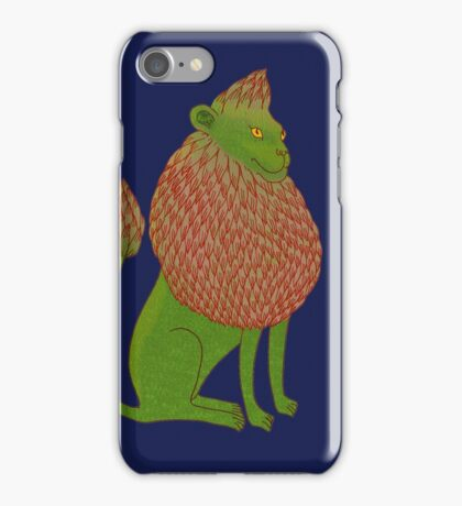 Asparagus Lion, King of the Vegetables iPhone Case/Skin