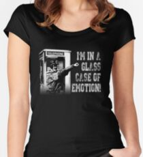 Glass Case of Emotion! Women's Fitted Scoop T-Shirt