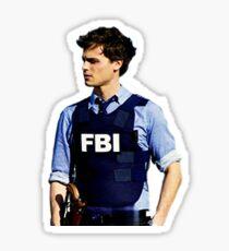 Spencer reid criminal minds  Sticker