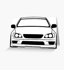 Simple is300 Greeting Card