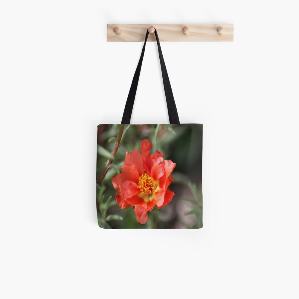 Moss Rose Bloom Tote Bag