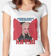 Katya Zamolodchikova - your dad just calls me Katya Women's Fitted Scoop T-Shirt