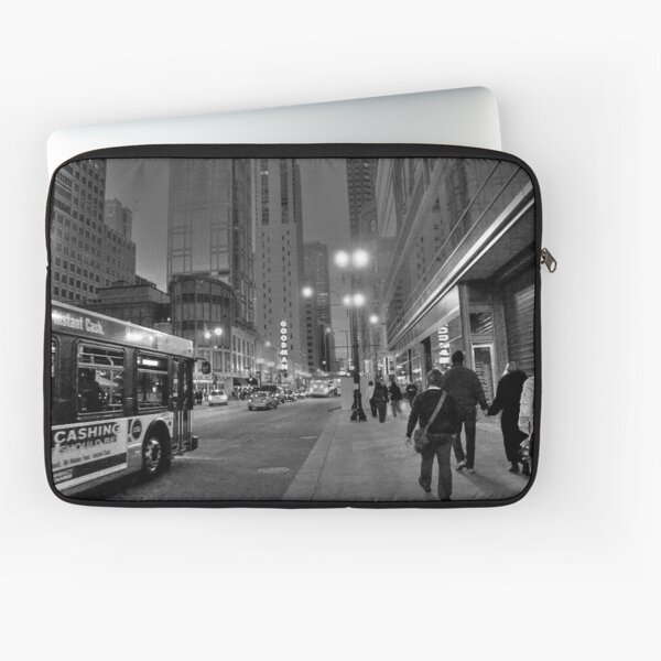 Downtown Stroll Laptop Sleeve