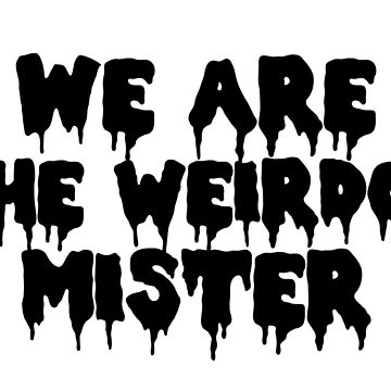 Das Handwerk Wir sind die Weirdo von peakednthe90s