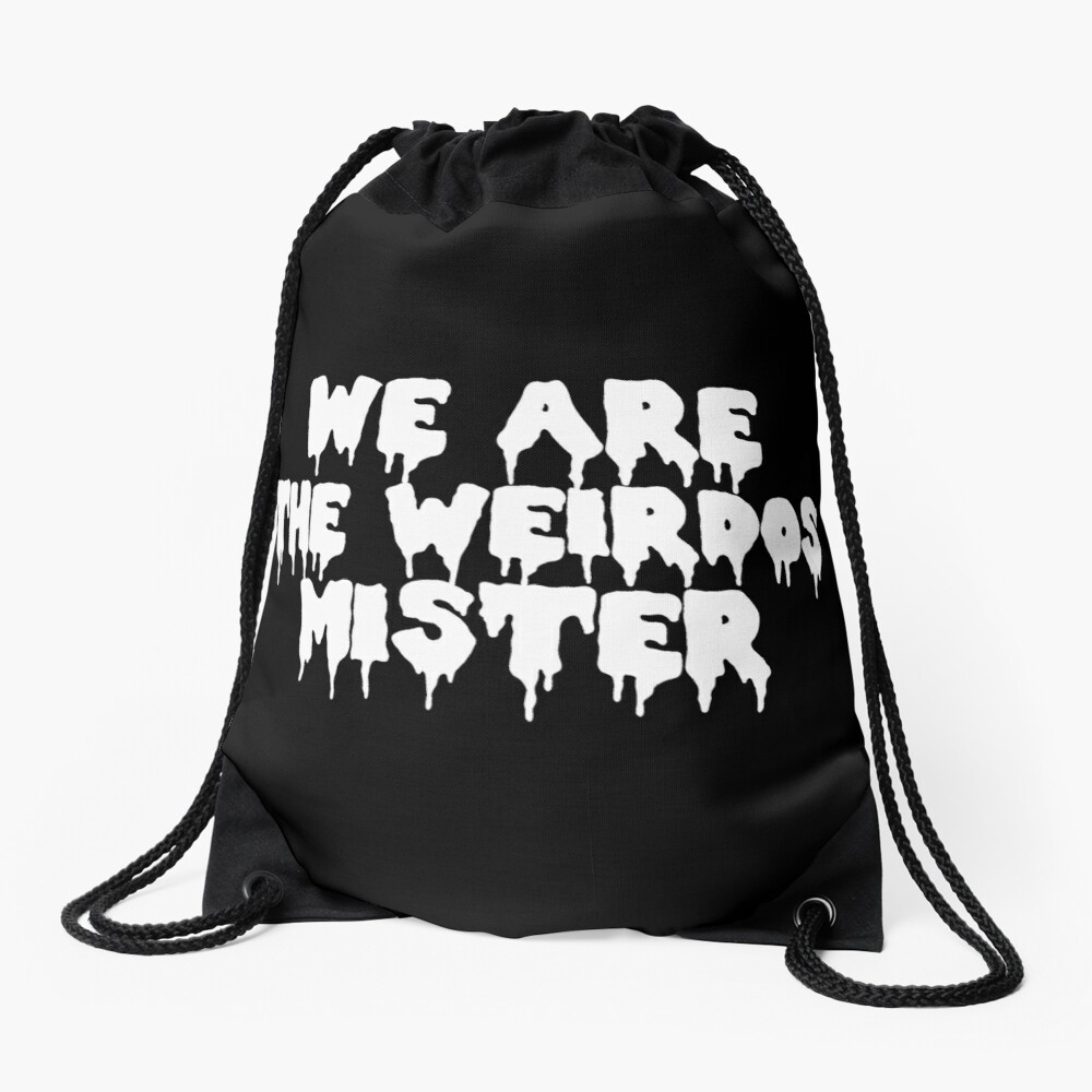 The Craft We Are the Weirdos Drawstring Bag