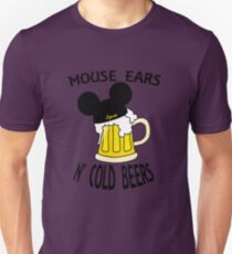 Mouse Ears N' Cold Beers (Epcot version) T-Shirt