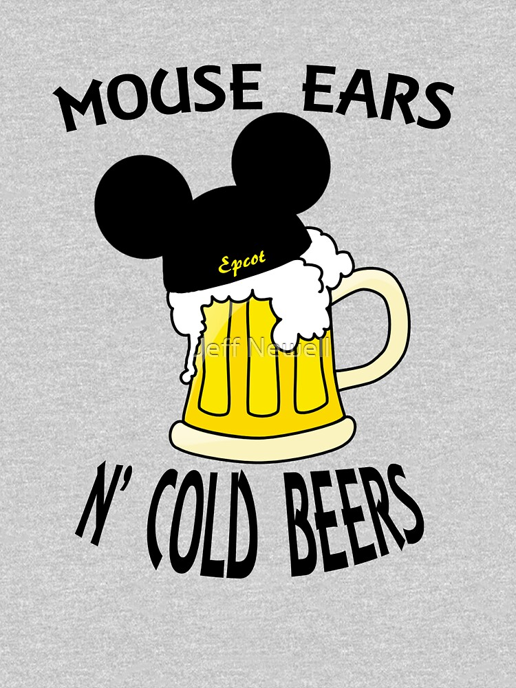 Mouse Ears N' Cold Beers (Epcot version) | Unisex T-Shirt