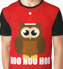 A Very Hooty Christmas Graphic T-Shirt