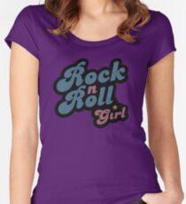 Darla Rock n Roll Girl Women's Fitted Scoop T-Shirt