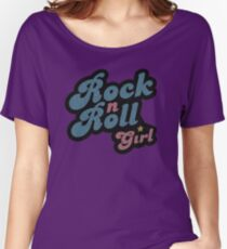 Darla Rock n Roll Girl Women's Relaxed Fit T-Shirt