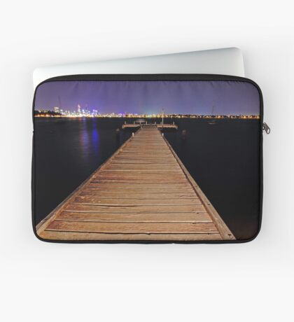 Pelican Point Jetty At Night  Laptop Sleeve
