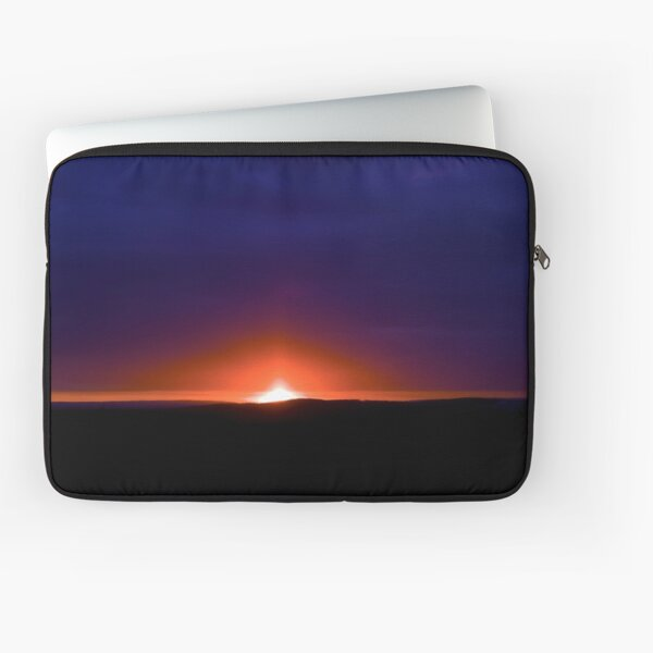 Burning Like A Candle Laptop Sleeve